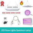 LED Grow Light Panel Lamp for Hydroponic Plant Full Spectrum Indoor UV&IR Panel