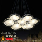 New Modern Creative Glass G4 LED Ceiling Light Pendant Lamp Fixture Chandelier