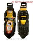 1 Pair Snow & Ice Grips Over Shoes Anti Slip Crampon Winter Traction Blackspur