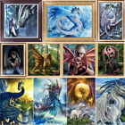 Внешний вид - Dragon Girl DIY 5D Diamond Painting Embroidery Cross Stitch Decor Needlework