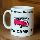 I'd Rather Be In My Camper Mug - Novelty Gift Tea Coffee Mug