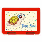 Lunch box Chill turtle with Request names of Wandtattoo-Loft BD128 Freshness box