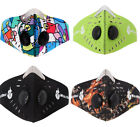 Kyпить PM2.5 Outdoor Riding Mask Gas Filter Protection Face Dust Mask Head Respirator на еВаy.соm