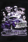 """Suavecito"" Gangster Man Beautiful Girls Lowrider Truck Latino Urban Art Poster"