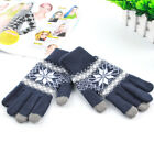 Touch Screen Gloves iPhone iPad Unisex Winter Smart Mobile Phone snowflake Gift