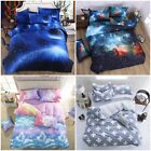 Cloud Galaxy Cross Duvet Cover Set Twin/Full/Queen/King Size Bed New Bedding Set