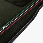 Fiat 500 (2007 - 2012) Tailored Car Mats + 500 Stripe