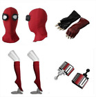 spiderman costume web shooters - US SHIP Spider-Man:Homecoming Spider Man Mask Gloves Stockings Web Shooters