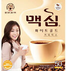 MAXIM Mocha White Gold Mild Instant Coffee Mix - 50, 100 Sticks