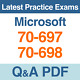 Microsoft Practice Tests 70-697 & 70-698 Certification Exams Q&A PDF