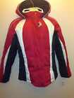 Energy zone women's hooded coat / jacket varies color size s red/white/navy $120