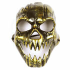 New Cosplay Creepy Skeleton Skull Mask Masquerade Halloween Costume Fancy Dress
