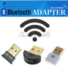Mini USB Bluetooth V4.0 Adapter Round/Square 3Mbps CSR Dual Mode Audio Receiver