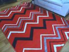 Modern Rugs Arena Red