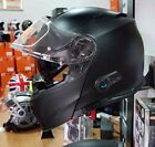 CASCO MODULARE DELTA CON INTERFONO BLUETOOTH A2 INTEGRATO  NERO OPACO DA XS A XL