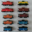 Quality HO Scale Cabooses RTR Kadee Couplers Variation Listing
