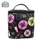 makeup ba - Fashion Women Roses Floral Cosmetic Bag Large Travel Lady Makeup Bag Toiletry Ba