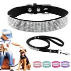 Bling Matching Dog Leashes and Collars for Chihuahua Yorkshire Beagle Pomeranian