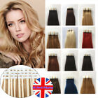 Tape-In Hair Extensions Seamless Skin Weft Remy Human Hair Straight 20/40Pcs UK