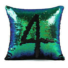 Optional Colors Bling Sequins Polyester Fiber Pillow Case Cushion Cover Hotsale