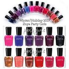 Zoya Party Girls Winter/Holiday 2017 Collection Nail Polish Choose Your Colors