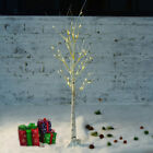 birch tree branches - 1.2M 48LED Silver Birch Twig Tree Warm Light White Branches with 8 Functions