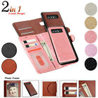 For Samsung Galaxy Note 9 S9 S8 Note8 Leather Wallet Card Slot Holder Case Cover