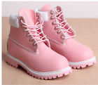 Mens Womens Lace Up Punk Military Heel Creeper Work High Top Combat Boot Shoes