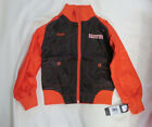Cleveland Browns Reebok GIRLS Brown/Orange Jacket Windbreaker NWT S M L 36
