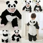 Baby Boy Girl Panda Animal Carnival Fancy Party Costume Outfit Romper Clothes