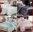 Jacquard Cotton Luxury Duvet Cover Bedding Set High Quality Queen King 4/6pcs  image