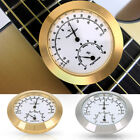 Guitar Violin Thermometer Hygrometer Moisture Meter Humidity Monitor Gold/Silver