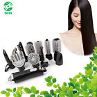 10-in-1 SET SALON STYLE HAIR DRYER CONCENTRATOR HAIRDRYER CURLING BRUSH HOME USE