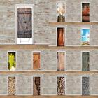 paper for walls - 3D Door Wall Mural Wall Paper Vinyl Removable Stickers for Home Decoration