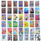 Kids Hero Girly Princess Flip Leather Case Cover For Universal 7'' Tablet Pad
