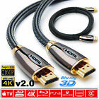 1 5m Premium Ultra Hd Hdmi Cable V2 0 High Speed Ethernet Hdtv 2160p 4k 3d Gold