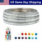 20/30/40/50 ft LED Strip Rope Light MultiColor Lightening Waterproof with Remote