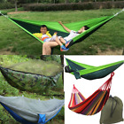 2 Person Camping Tent Hanging Hammock Bed Mosquito Net Travel Outdoor 3 Color