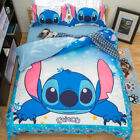 Disney Cartoon Stitch Duvet Cover Bedding Set Kids Quilt Cover Set Pillowcase