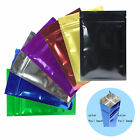 colored zip lock bags - New Glossy Metallic Mylar Zip Lock Bags in Various Colors 6x9cm (2.4x3.5