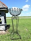 "38"" Wrought Iron Plant Stand Flower Container"