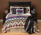 Blue River Southwest Cabin Comforter Set with FREE Valance and Shipping!