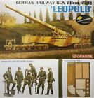 Dragon 1/35 German Railway Gun 28cm K5(E) ' Leopold ' New Plastic Model Kit 6200