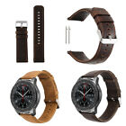 Quick Release  Watch Band 18mm/22mm/23mm Genuine Leather Wrist Strap image