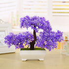 Artificial Tree Potted Plastic Plant Pot Welcoming Pine Home Office Decorations