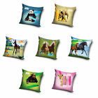 Animal Planet Pillowcase Pillow Cover 40 x 40 cm Horses Horses Panda Elephant