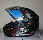 HJC CS-R3 Songtan Electric Snowmobile Helmet Gray Red SM MD LG XL 2XL CS-R3FE