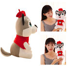 1×Plush Stuffed Husky Dog Toy Doll Birthday Girlfriend Gift Kids Children O0082