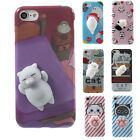 3D Cat Toy Soft Squishy Adorable Animal Phone Case Cover for iPhone 6 6S 7 7Plus