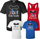 Disney FAMILY vacation Minnie MICKEY Mouse Customized T-shirt MY FIRST TRIP 2018